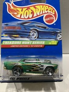Hot Wheels TREASURE HUNT SERIES '57 CHEVY LIMITED EDITION SEALED UNOPENED VHTF