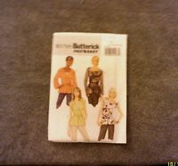 Butterick Fast & Easy Pattern B5709 Misses' Pullover Top & Belt Size 16-24 - New