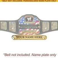 Personalized Nameplate for Adult WWE United States Championship Replica Belt