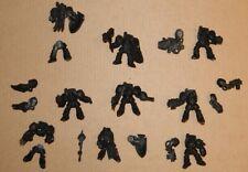 Warhammer 40K Space Marines Dark Angels 9 Terminators Deathwing