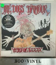 "THE DOGS D'AMOUR victims of success (pink vinyl, limited) 7"" EX/EX- CHINS 24, uk"