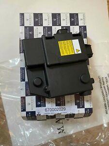 Maserati Ghibli,Levante,Quattroporte Battery Multi-Function ECU 670002029