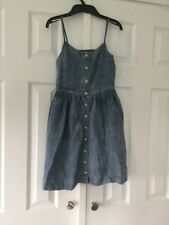 Ralph Lauren Blue Strappy Sundress Age 10 NWOT