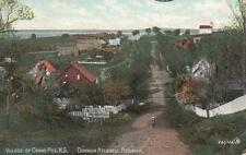 Antique POSTCARD c1907 Village of GRAND PRE, NS NOVA SCOTIA 19242