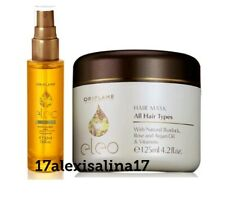 Oriflame Eleo Hair Mask with Vitamin F & Eleo Dry Oil