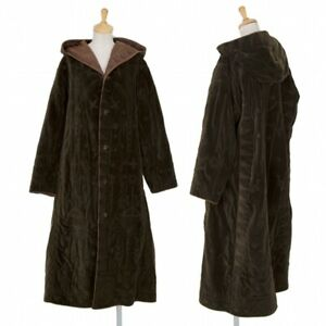ISSEY MIYAKE HaaT Embroidery Reversible Coat Size 2(K-98412)