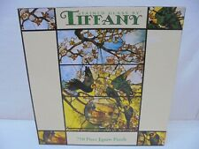 "New Puzzle Stained Glass by Tiffany 750 pc 24"" x 18"" Ceaco Jigsaw 1999 Sealed"