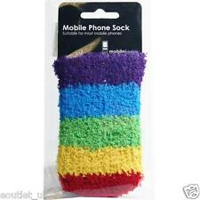 COOL Arcobaleno Multi Colore phone sock case Cover per iPhone HTC SAMSUNG NUOVO