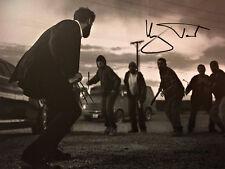 Hugh Jackman SIGNED Wolverine PHOTO LOGAN X-MEN black AUTOGRAPH FIRST FIGHT LOOK