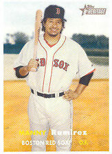 Manny Ramirez Game Used Relic Keychain Boston Red Sox Worn by Manny! Baseball Legend Fabric Fobs