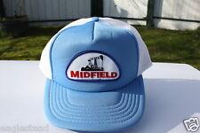 Ball Cap Hat - Midfield - Rocking Horse style Oil Well Pump logo Alberta (H680)