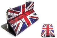 PU Leather Stand Case Cover Samsung Tab 3 & iPad Air Retro Vintage Union Jack