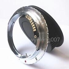 AF Confirm Olympus OM Lens to Canon EOS EF Adapter 550d 1200d 7d 350d 450d + CAP