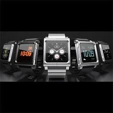 Silver LunaTik LYNK Multi-Touch Wrist Watch Band for iPod Nano 6 6th Gift