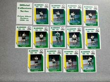 Lot of 14 Prince Albert Raiders WHL locally-issued hockey cards: Dean McAmmond +