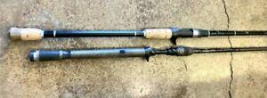 (Lot of 2) Fenwick HMGWMG70MH-FC/Fox River 79MH Casting Rods