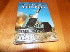 WEAPONS OF WAR ARTILLERY & ROCKETS Gun Rocket Launchers History Guns DVD NEW