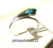 Delicate Turquoise Ring with Silver 925