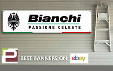 Bianchi Banner PVC Sign for workshop, garage, Specialissima, Infinito, Oltre