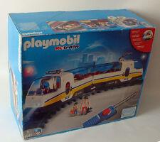 PLAYMOBIL® 4011 BOITE TRAIN TGV RC RAIL Figurine Accessoire LOCO WAGON ☆ 4 ☆  1E
