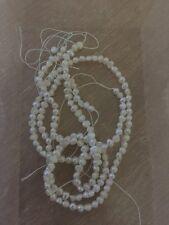 MADREPERLA x 60 PEZZI gioielli pietre collana orecchini perline artigianato