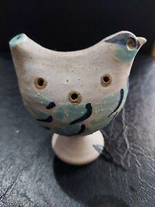 Unique Pottery Bird Whistle