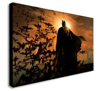BATMAN THE DARK NIGHT RISES Canvas Wall Art Print Picture -Various Sizes