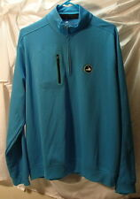 Bobby Jones Xh20 Virginia Golf Assn Crawford Blue Long Sleeve Pullover Mens L
