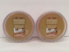 Yankee Candle Scenterpiece Easy Melt Cup in Luscious Pumpkin Trifle - Set Of 2!