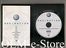 2009 2010 Volkswagen Touareg 2 Passat Jetta Navigation DVD Map U.S Canada Mexico