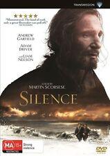 Silence (DVD, 2017)