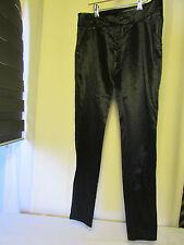 pantalon pinko noir brillant taille 38