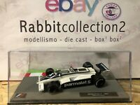 "DIE CAST "" BRABHAM BT49 - 1981 NELSON PIQUET "" FORMULA 1 COLLECTION 1/43"
