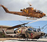 Hasegawa 1/72 AH-1F Cobra Israeli Air Force Model Kit NEW from Japan