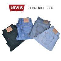 LEVIS STRAIGHT LEG JEANS DENIM GRADE A W30 W32 W34 W36 W38 W40