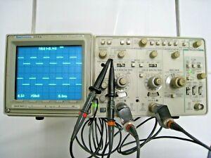 TEKTRONIX - 2221A 100MHz 2 Kanal Digital-Analog Storage Oszilloskop Service Manu
