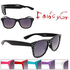 Unisex Fashion Sunglasses Polka Dots UV 400 Protection x 12 Assorted