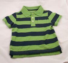 NWT Greendog 18 Mos Shirt Green w/ Blue Stripes