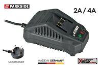 Parkside 20v Battery Charger PLG 20 A1 for Combination Tool PKGA 20-Li A1 & B1