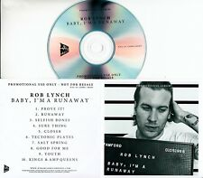 ROB LYNCH Baby, I'm A Runaway 2016 UK 10-trk promo test CD