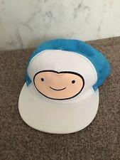 Oficial Adventure Time Finn Cara Grande Gorra Ajustable Tamaño Junior 6-12 años