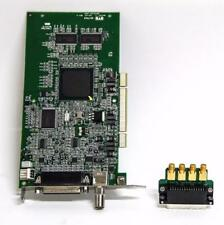 Matrox Meteor II 750-03 Meteor2/4 Frame Board 63039620278 & SMA I/O Adapter 5330