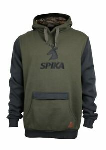 SPIKA MENS HOODIE OLIVE GHM-019 Small To 5XL