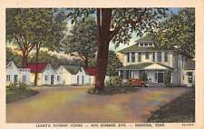 Memphis Tennessee Leahy Touris Court Linen Antique Postcard K18499