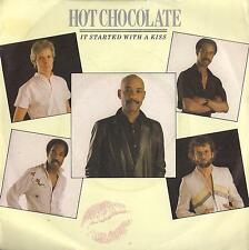 DISCO 45 Giri  Hot Chocolate - It Started With A Kiss / Emotion Explosion