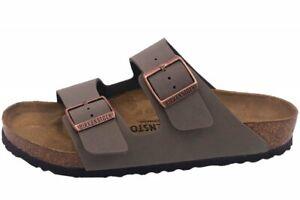 Birkenstock Arizona Stone Grau Pantolette Unisex Schuhe 151211 Gr. 36-48