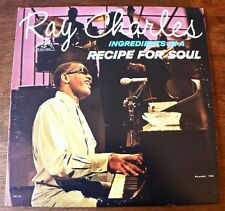 "Ray Charles ""Ingredients In A Recipe For Soul"" Vinyl 12""LP 1963 -Album-Records"