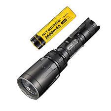 Combo: Nitecore SRT7GT Flashlight  w/NL186 2600mAh Rechargeable 18650 Battery