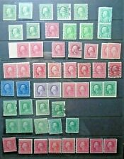 CLASSIC LOT USA US UNITED STATES VF MNH VF MLH VF USED B37.8 START 0.99$