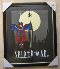 """SPIDER-MAN  12"""" X 17"""" MOUNTED & FRAMED WALL HANGING"""